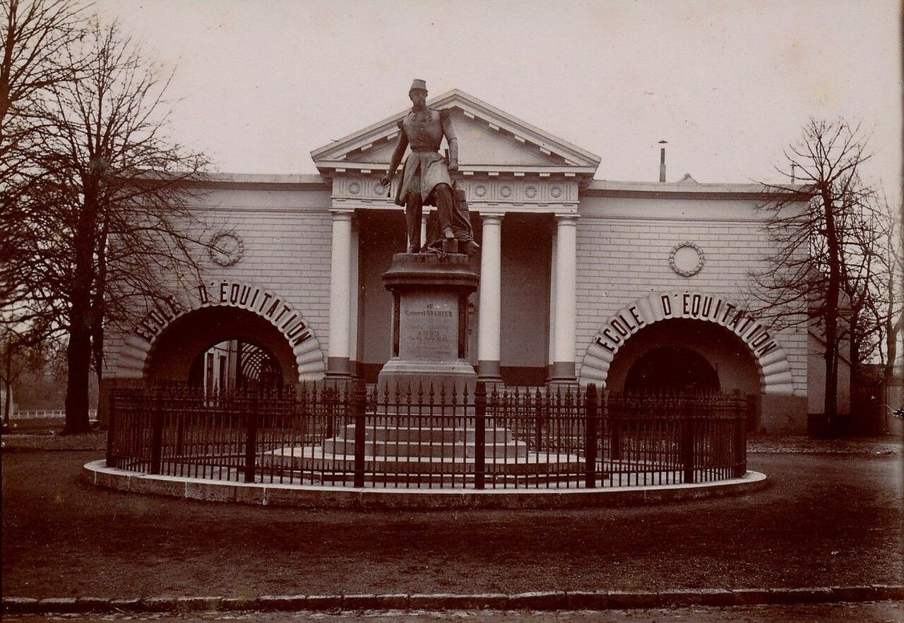 Лилль. Статуя генерала Франсуа-Оскара де Негрие