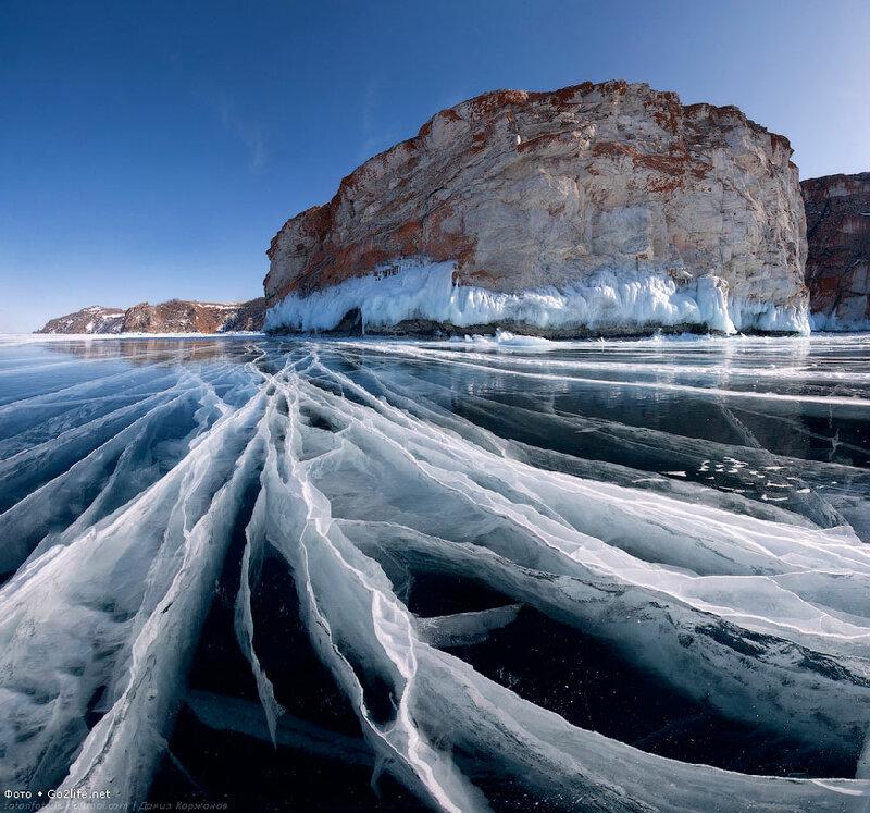 Go2life.net • Тонкие ледяные струны озера Байкал