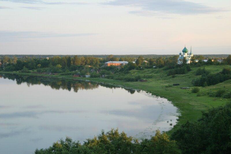 Старая Ладога, Волхов