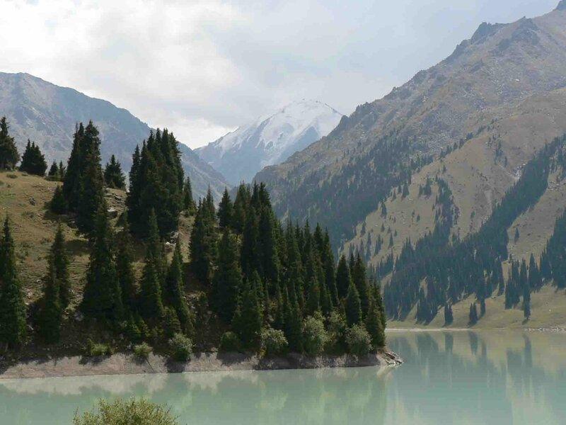 Мельников Сергей, Большое Алматинское озеро