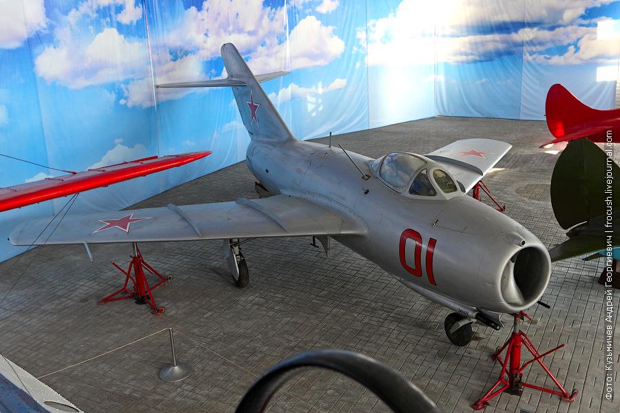 Истребитель МиГ-15 бис в Чкаловске