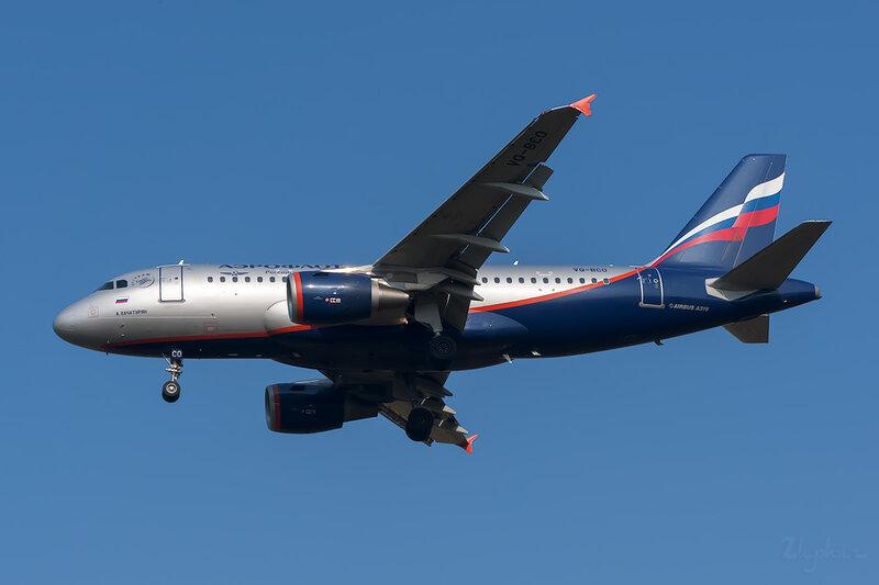 Airbus A319-112 (VQ-BCO) Аэрофлот DSC6504