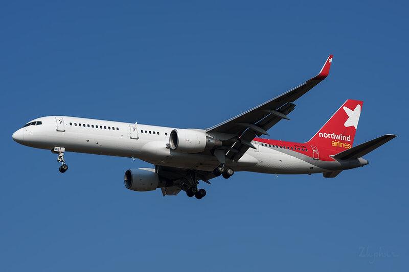 Boeing 757-231 (VQ-BKE) Nordwind DSC6627