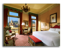 Италия. Флоренция. The Westin Excelsior, Florence. Premium deluxe room with Arno river view