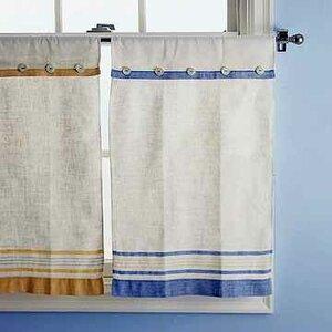 Кухонные шторы из полотенец