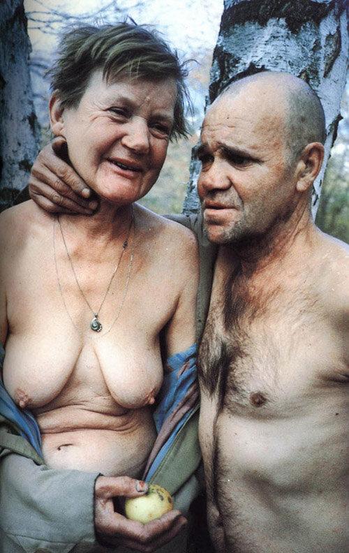 Бомжихи голые фото