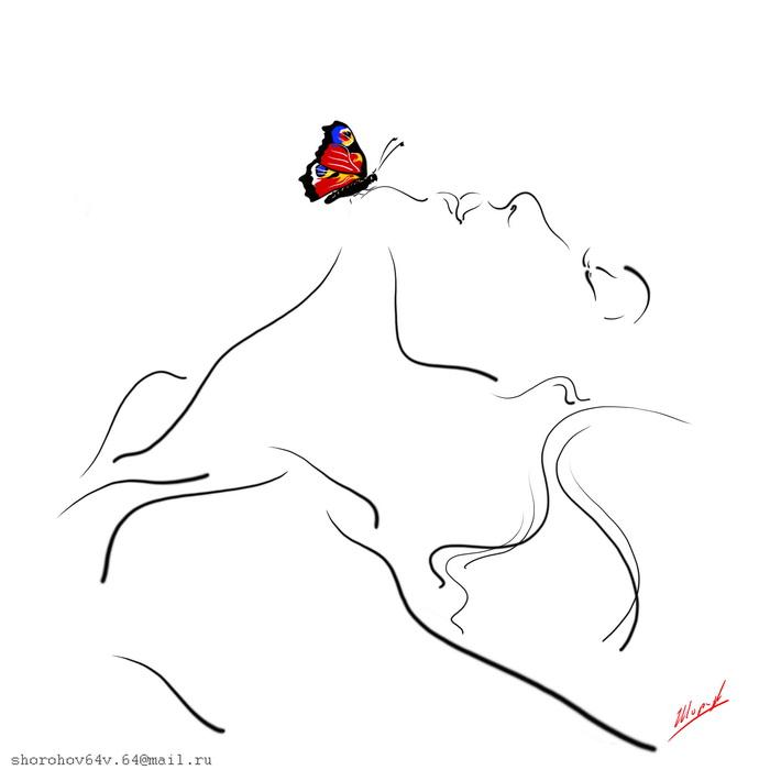 Легка и прозрачна, как бабочка в трепете грез. Шорохов Владимир Леонидович