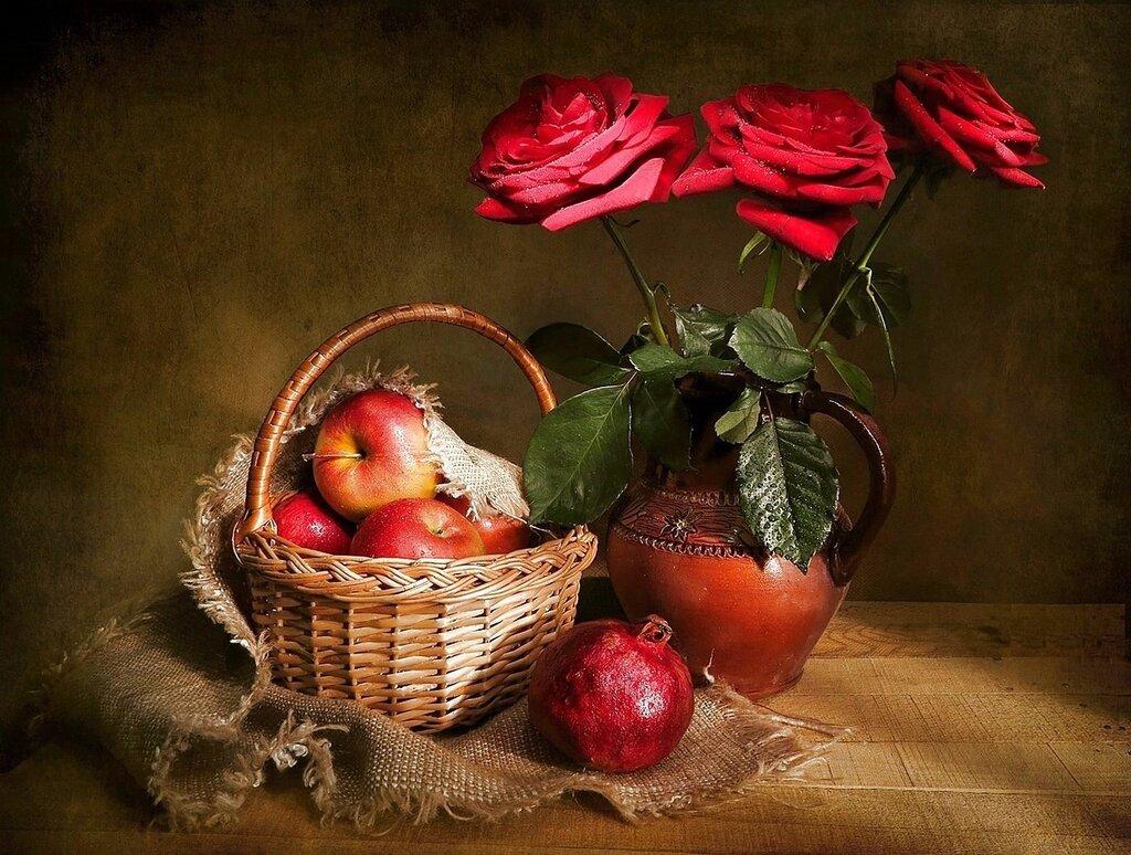 Красные розы!