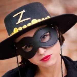 Женский карнавальный костюм Зорро