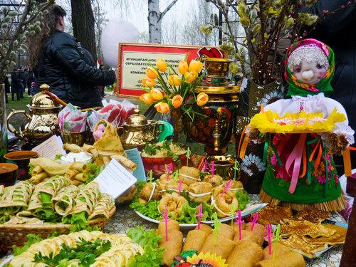 Фотоотчёт - Проводы русской зимы (масленица)
