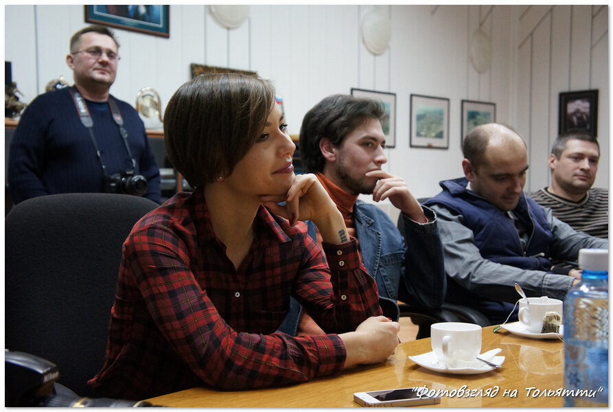 Встреча  мэра Сергея Андреева с блогерами