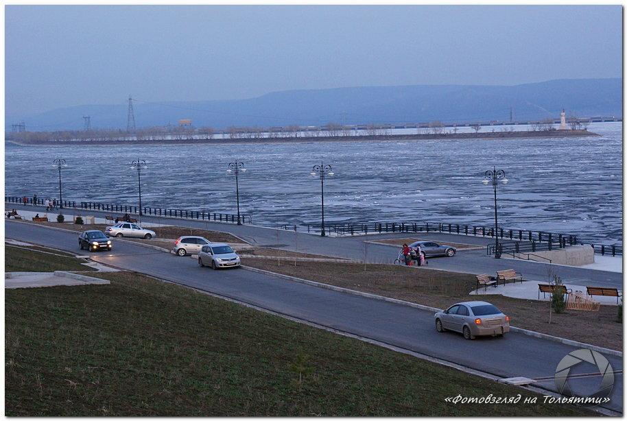 Набережная Комсомольского района Тольятти
