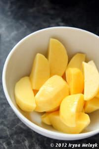 Картофель для запекания с индейкой