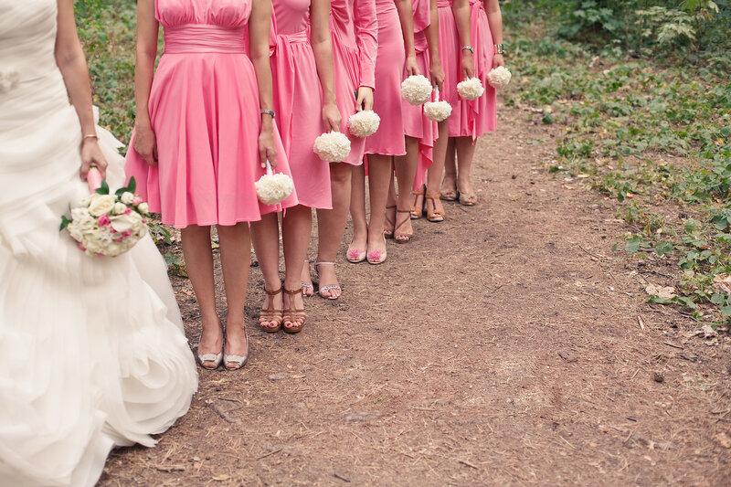 Повязки подружкам невесты своими руками