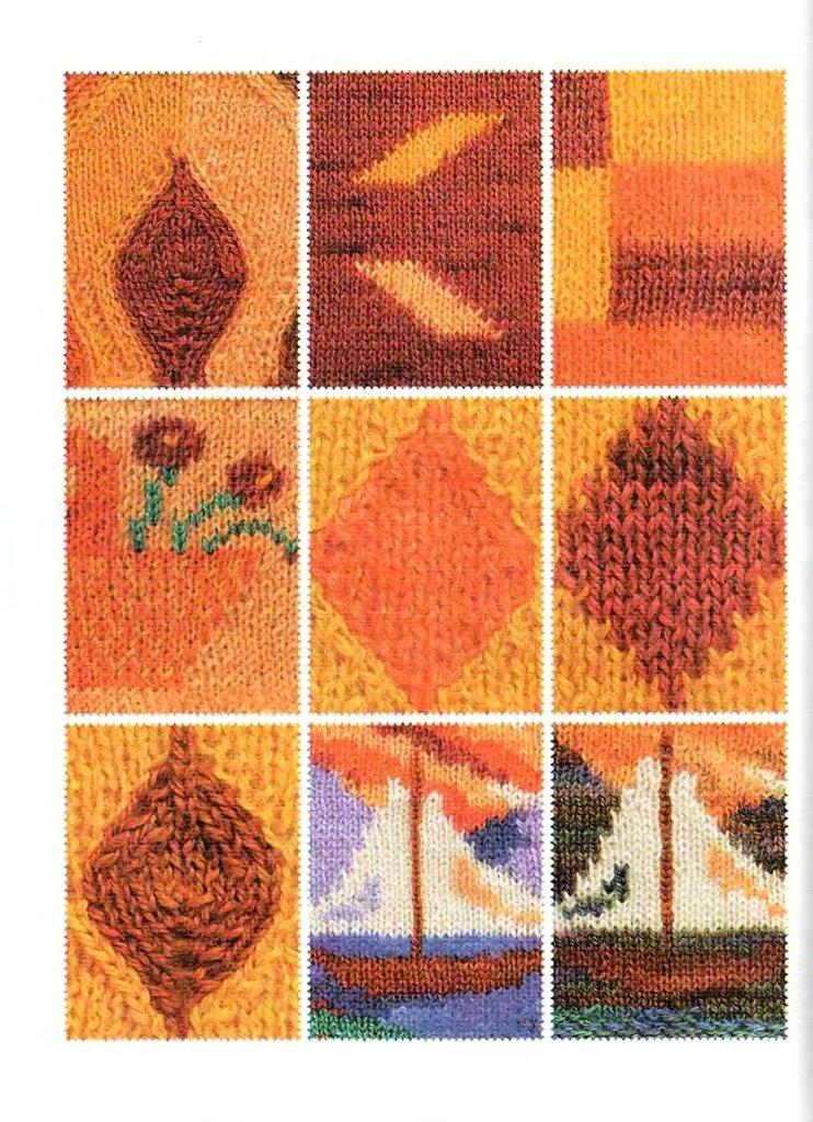 Вязание смена ниток при вязании спицами