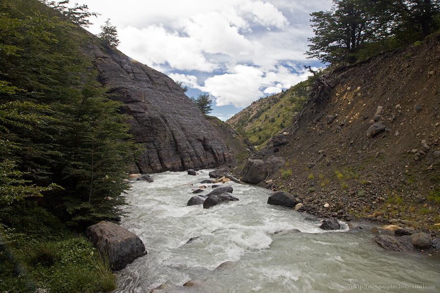 3. Восхождение к Голубым Башням и животный мир Южной Патагонии