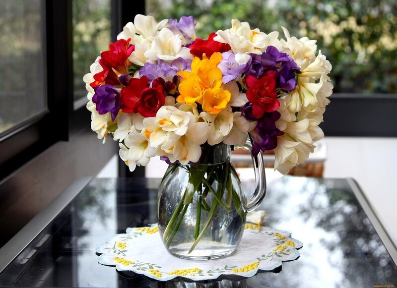 С добрым утром цветы картинки 5