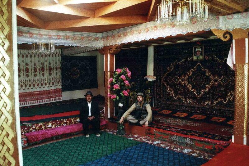 ГБАО, кишлак Наматгут Ишкашимского р-на. Музей Шохи Мардон-3. Модель памирского дома.jpg