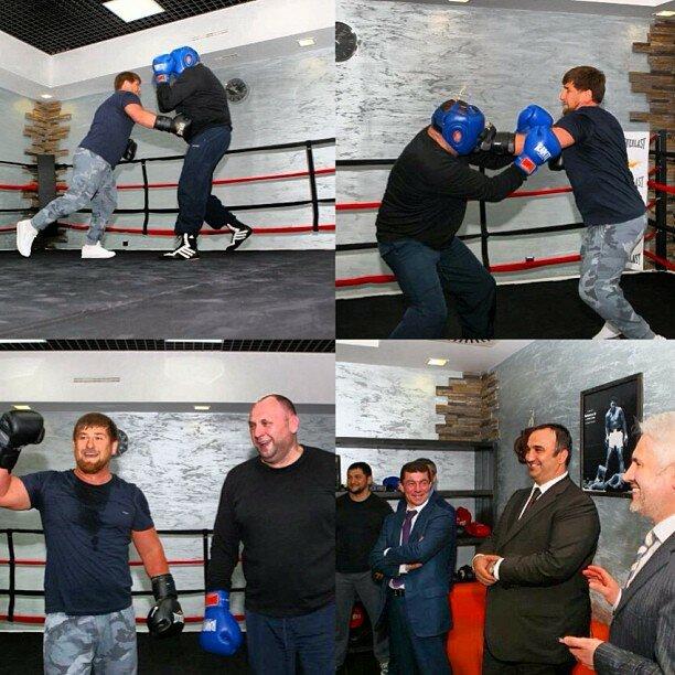 Рамзан Кадыров навалял Министру спорта