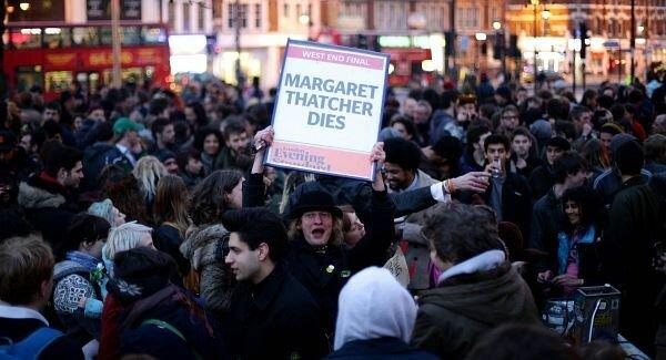 Baroness Thatcher death