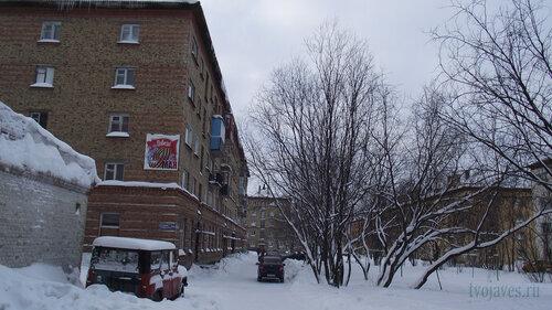 Фото города Инта №2683  Гагарина 13, 11 и 5 31.01.2013_12:57