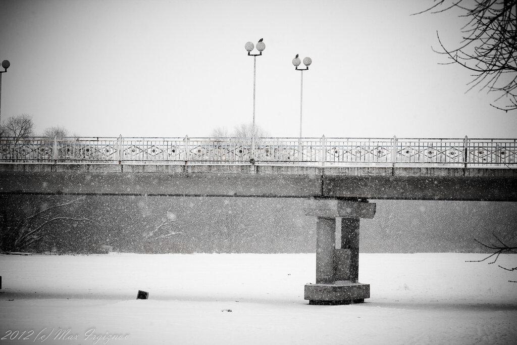 Пешеходный мост через Свиягу