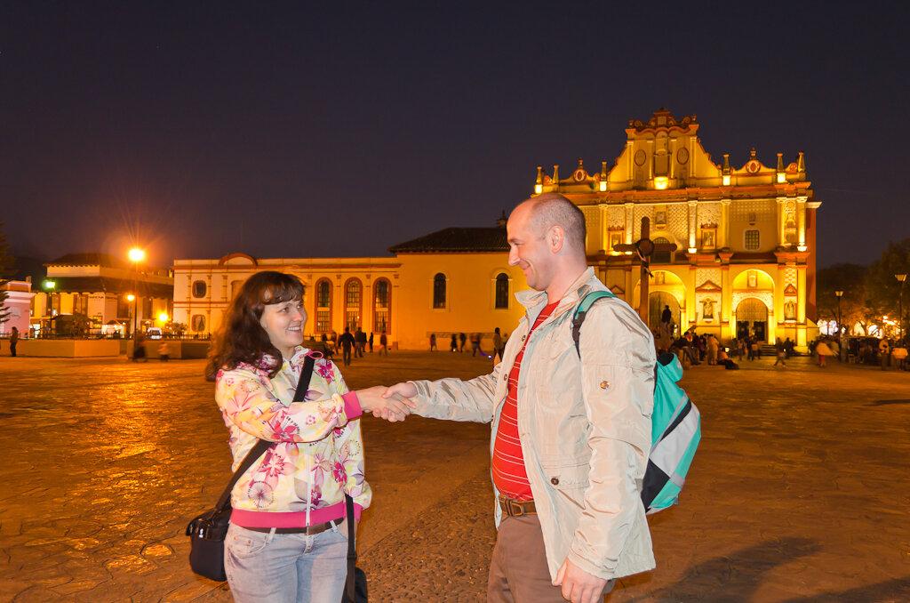 Холодные ночи на высоте 2000 метров над уровнем моря. Мексика. Поездка в Сан-Кристобаль-де-лас-Касас