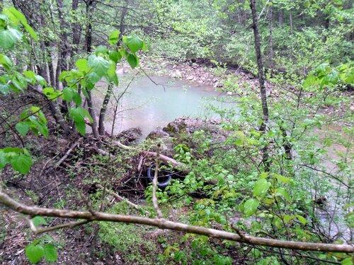 У реки, апрель 2012