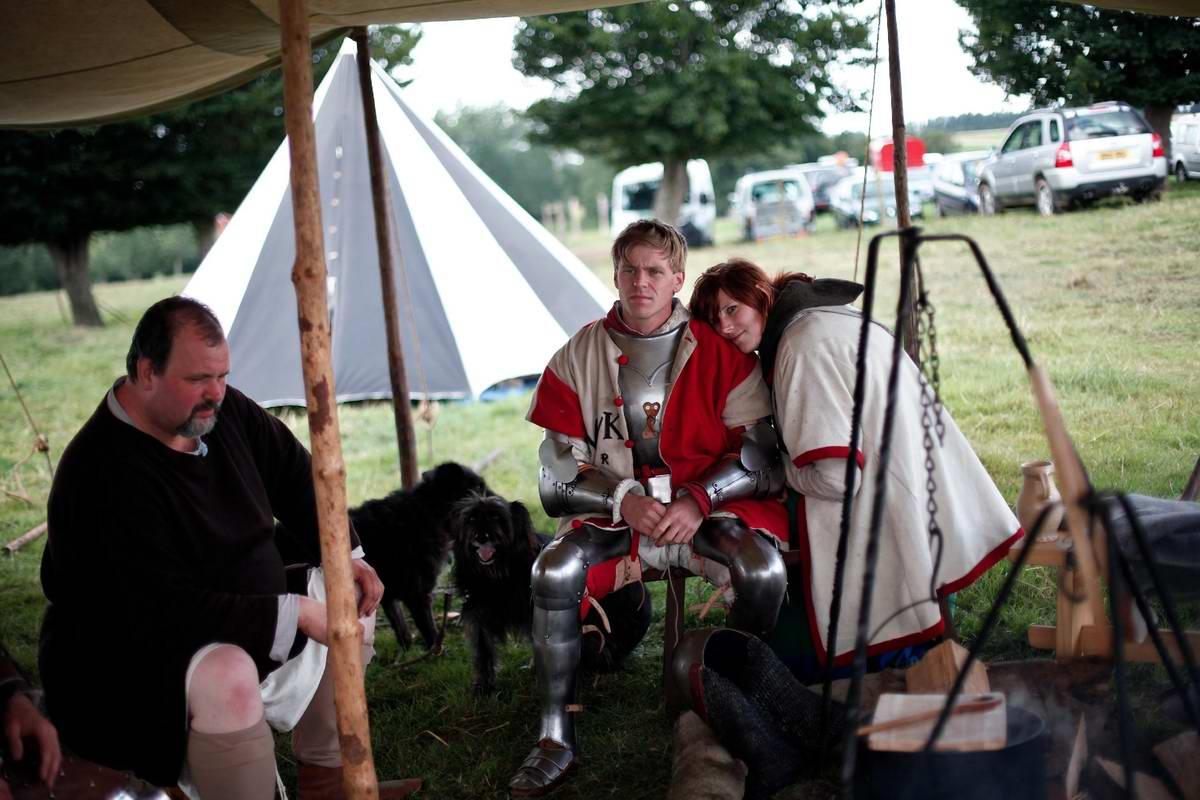 Эпизоды Столетней войны: Реконструкция битвы при Азенкуре в Северной Франции (18)
