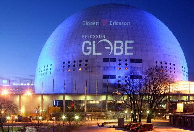 Глобен-Арена. Стокгольм, Швеция
