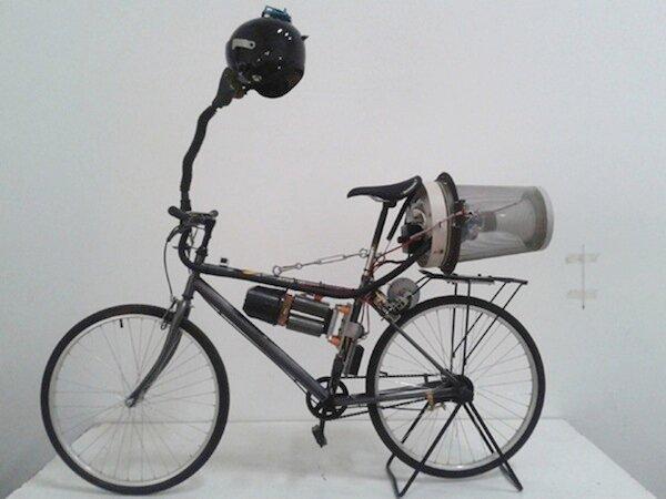 В Пекине изобрели велосипед для фильтрации воздуха