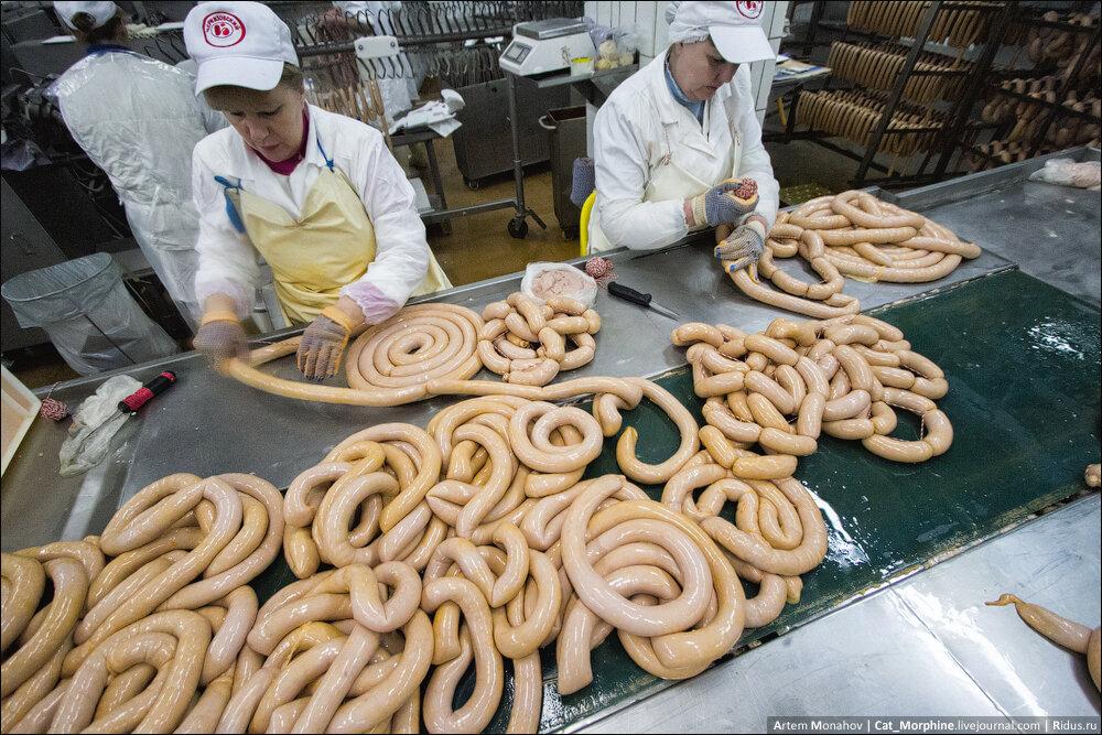 Как делают российскую колбасу