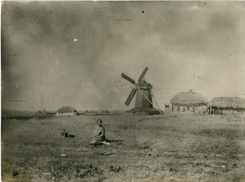 Деревенский пейзаж 1929 г