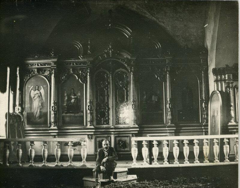 Иконостас, подаренный императором Николаем II