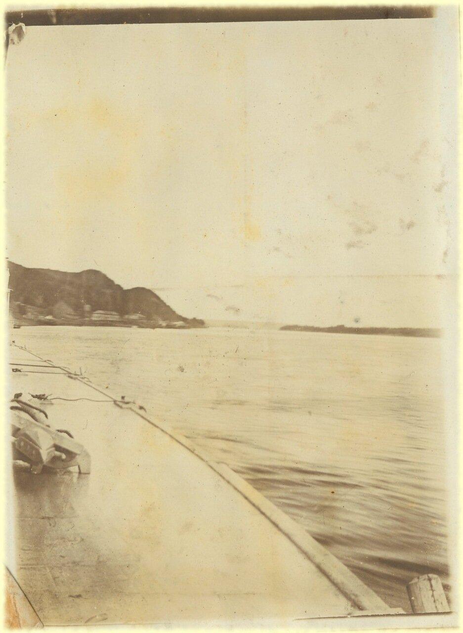 С парохода Москва. Вид на Каму недалеко от устья. Снято Коноваловым
