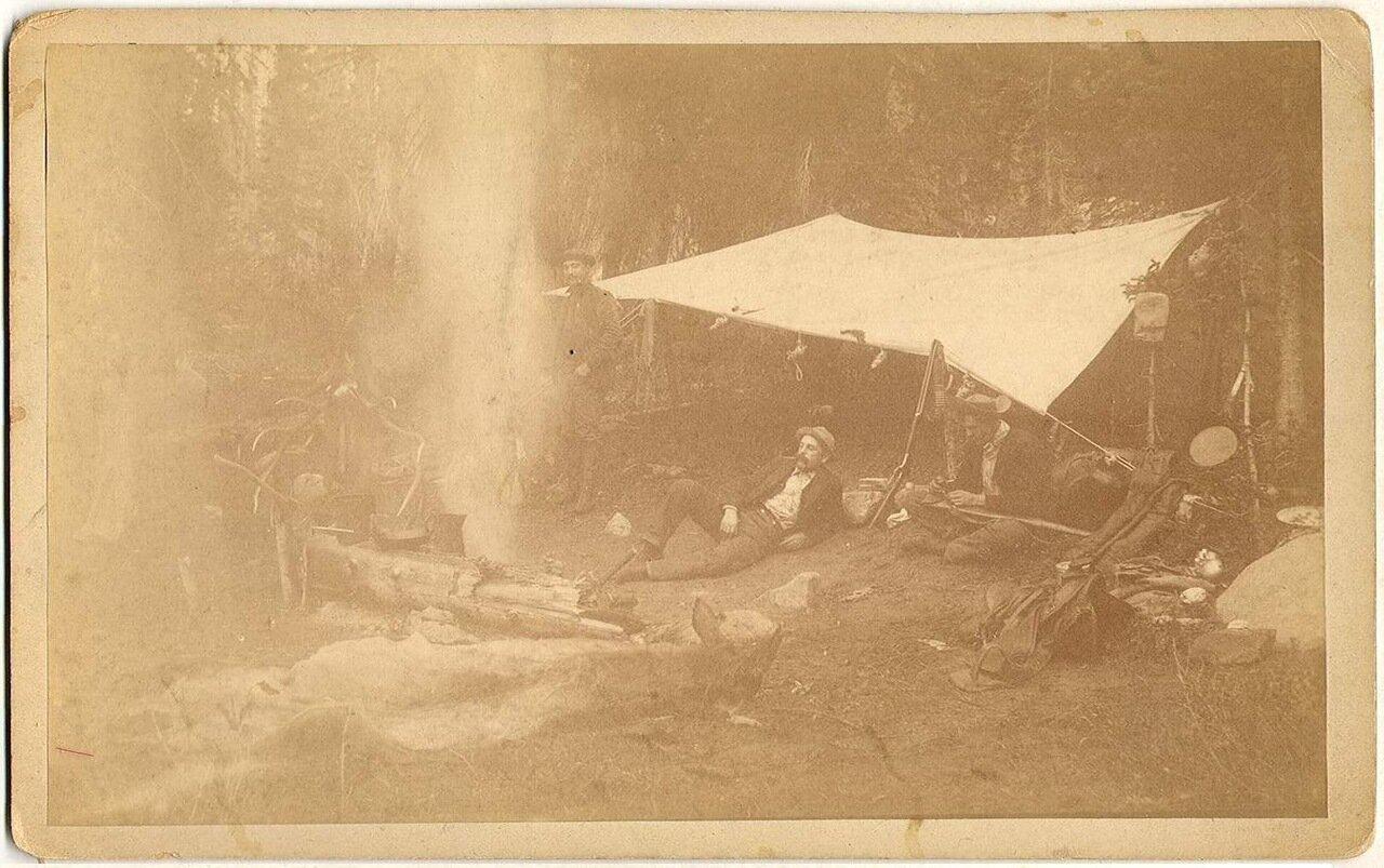 Лагерь трапперов