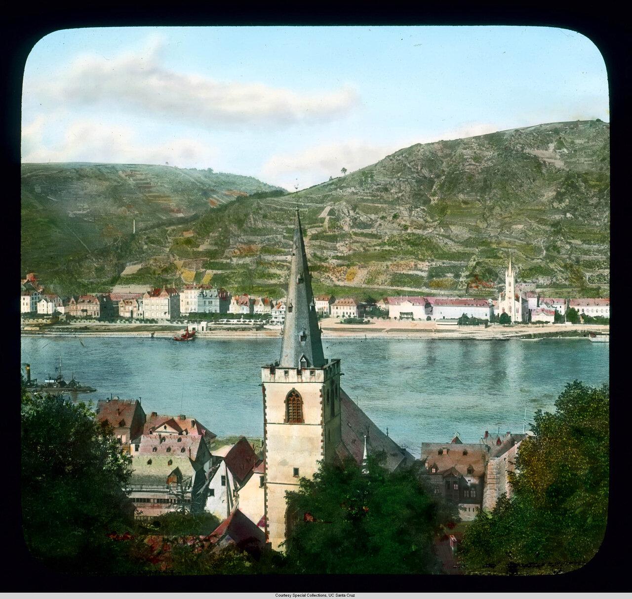 Рейнская долина.  Санкт-Гоарсхаузен.