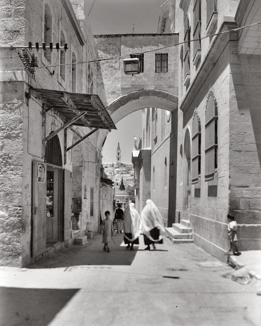 Виа Долороса. Иерусалим. 1898-1946