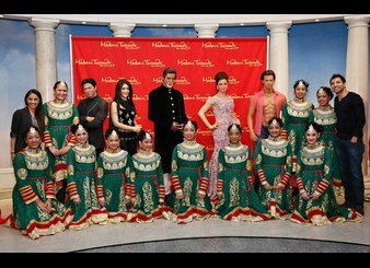 Shah Rukh Khan on display at the Bollywood Exhibit unveiling at Madame Tussauds on March 7, 2013 in New York City