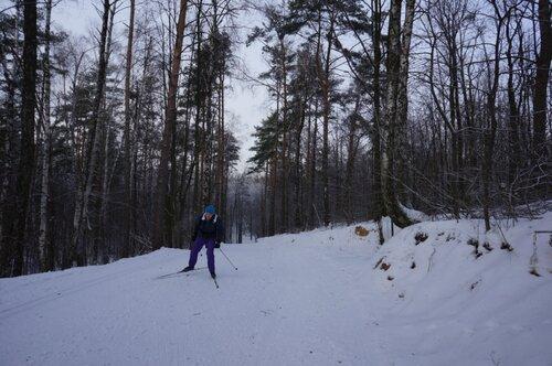 Зимняя Природа, Трасса на Волкуше