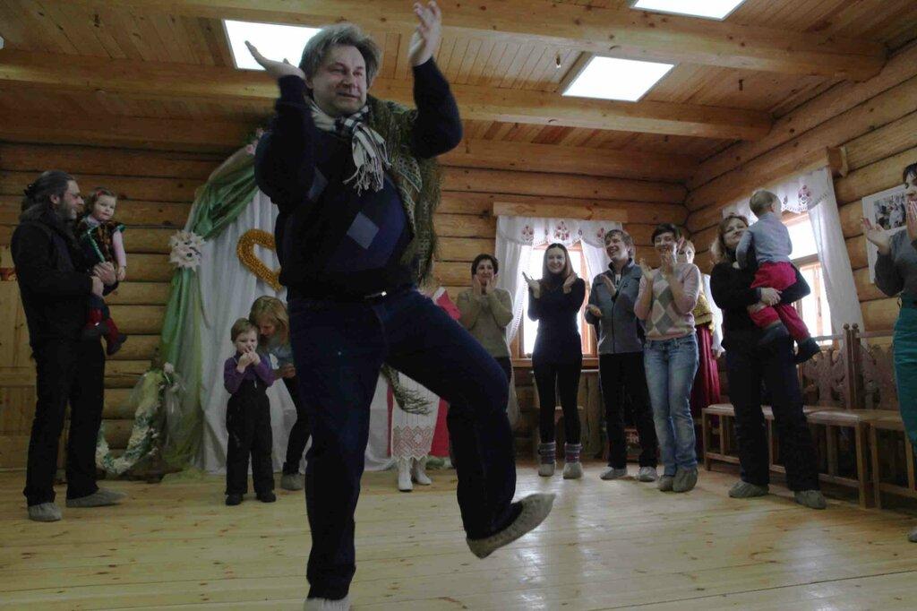 Масленница - танец с платком 5