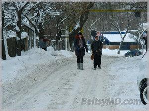 Бельцы — такого снегопада у нас ещё не было?!