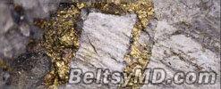 Землетрясения способствуют образованию золота
