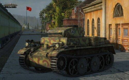 Pz.I Ausf.С в World of Tanks