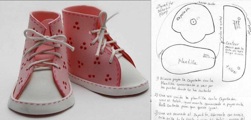 Сшить обувь для беби бона своими руками