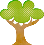 деревья картинки мультяшные