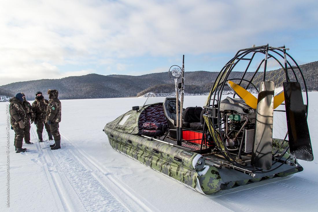 Как работают рыбинспекторы на Байкале