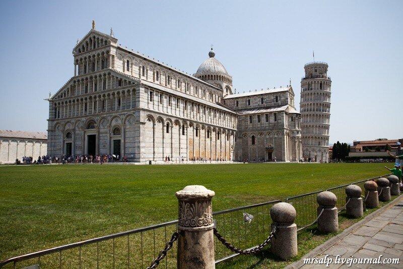 Посещение падающей башни в Пизе