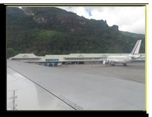 Сейшелы. Международный аэропорт о. Маэ