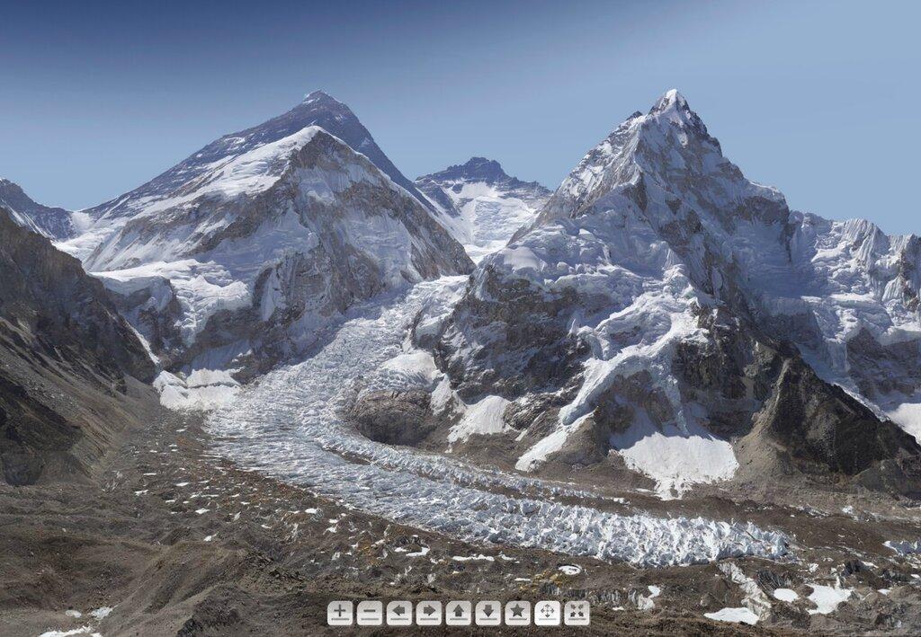 2–гигапиксельная фотография Эвереста